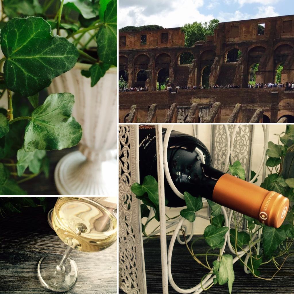 Viini saa arvoisensa huomion, kun se on oikeassa paikassa. Muratti näyttelee loistokkaasti viiniköynnöstä, samalla ottaen tukensa pullotelineestä. Jos resurssit riittäisivät, somistaisin itselleni kokonaisen viinikellarin. Siihen päivään asti, tämä on ihan riittävän buono!